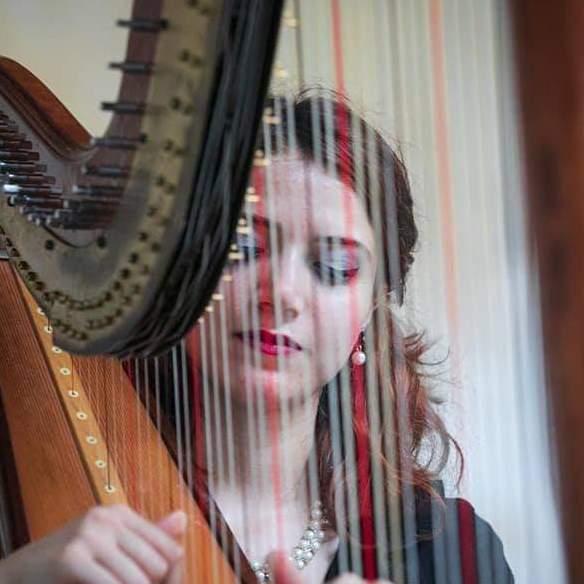 Chiara Evangelista insegnante di arpa