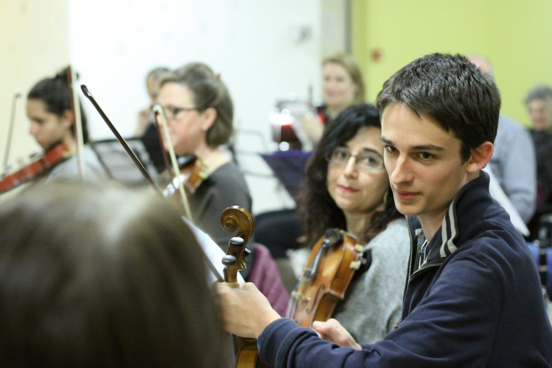 Scuola di Musica Roma   Momenti in orchestra aperta all'Istituto musicale Corelli