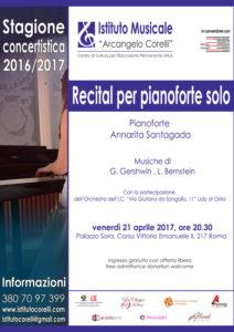 2017 locandina concerto Santagada Recital pianoforte solo 21 aprile