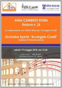 2018 locandina concerto AIMA Cambristi 19 maggio