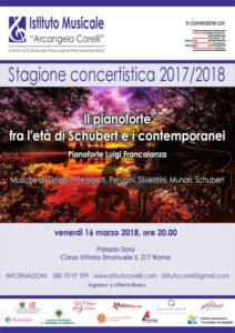 2018 locandina concerto pianoforte Fracalanza 16 marzo