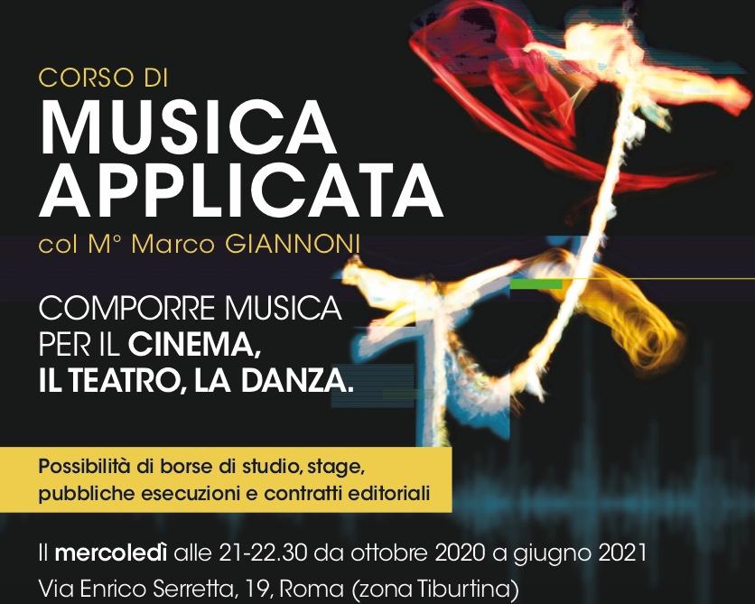 Corso di Musica Applicata a Roma con il Maestro Marco Giannoni