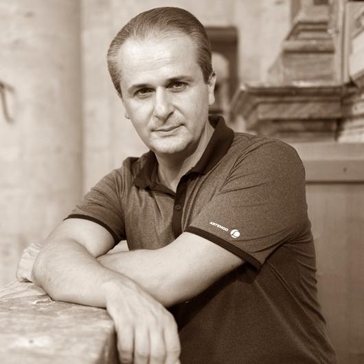 Marco Lo Muscio insegnante di pianoforte e organo
