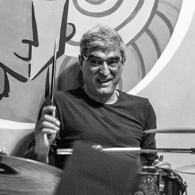 Giampiero Silvestri insegnante di batteria e laboratorio percussioni