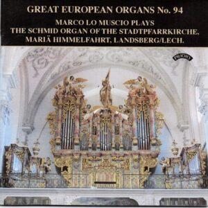 Priory Records - Great European Organs N.96