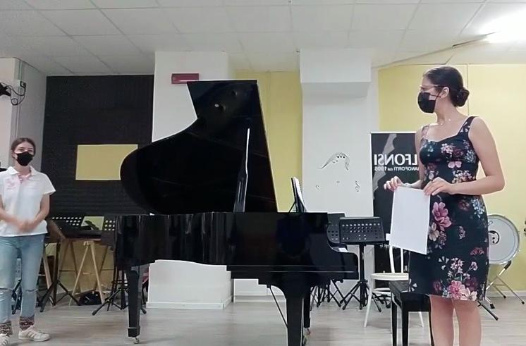 Saggio di pianoforte 2021