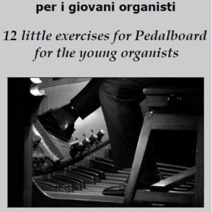 Copertina 12 Esercizi per pedaliera per giovani organisti