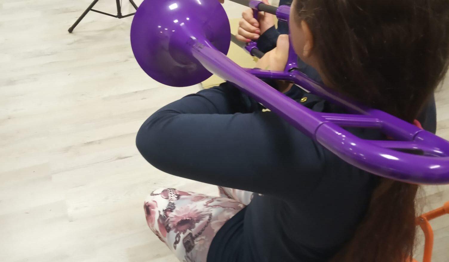 Corso di trombone | momenti di musica all'Istituto Corelli