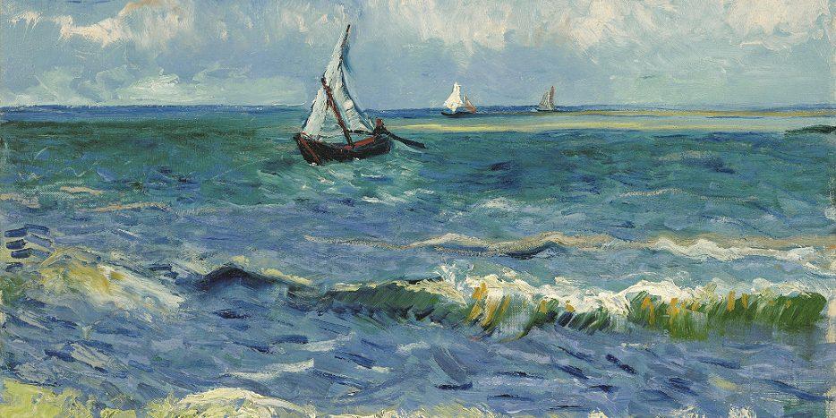 Il mare di Les Saintes Maries de la Mer, Van Gogh - Il mare nella musica classica