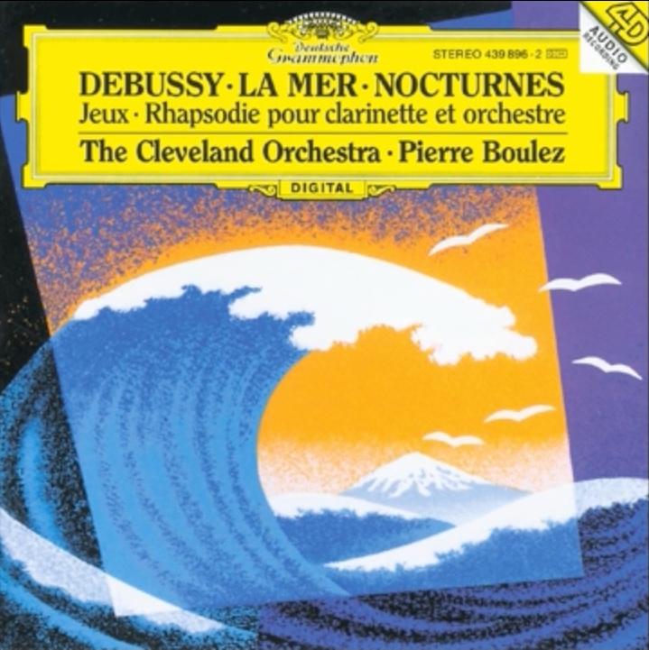 Debussy La Mer copertina Cd - Il mare nella musica classica