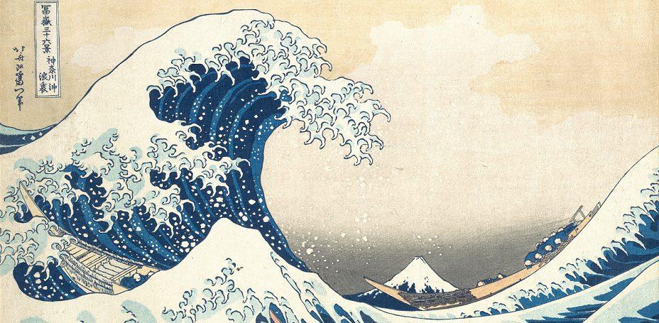 Katsushika Hogusai La grande onda di Kanagawa - Il mare nella musica classica