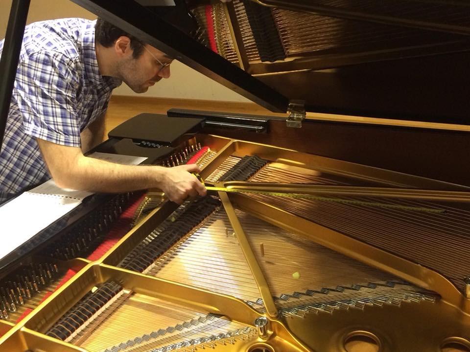 Marco Noia compositore, insegnante di solfeggio e teoria musicale