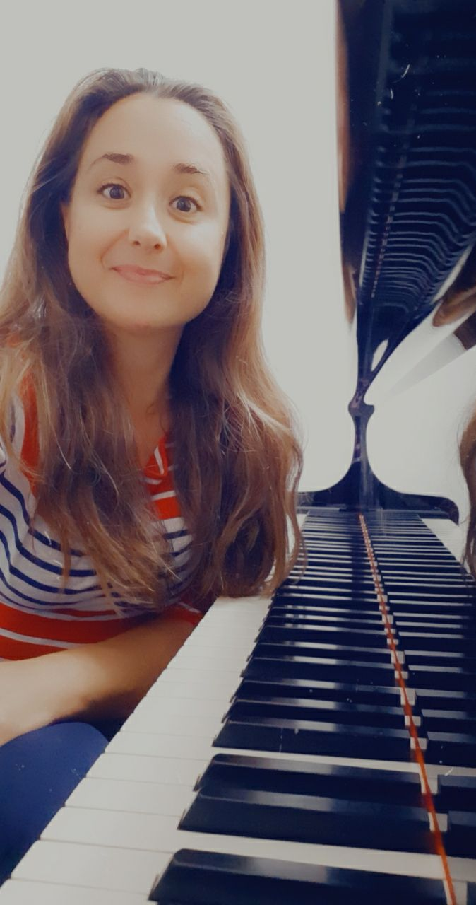Tiziana Iachetta al pianoforte