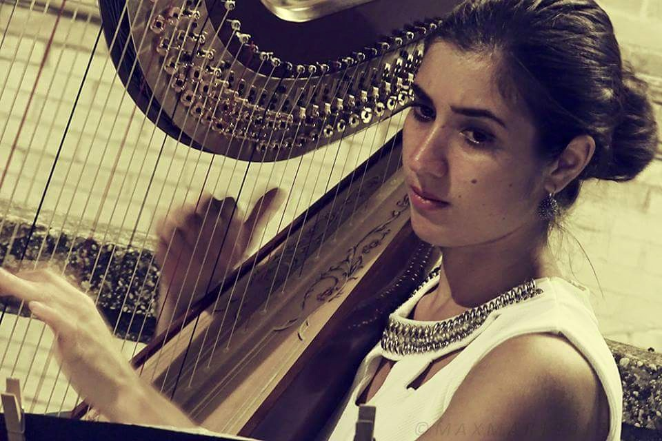 Claudia Pintaudi insegnante di arpa