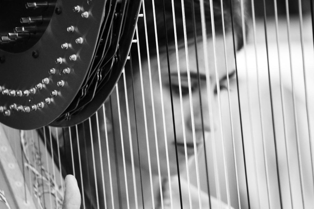 Claudia Pintaudi insegnante di arpa parla del suono dello strumento