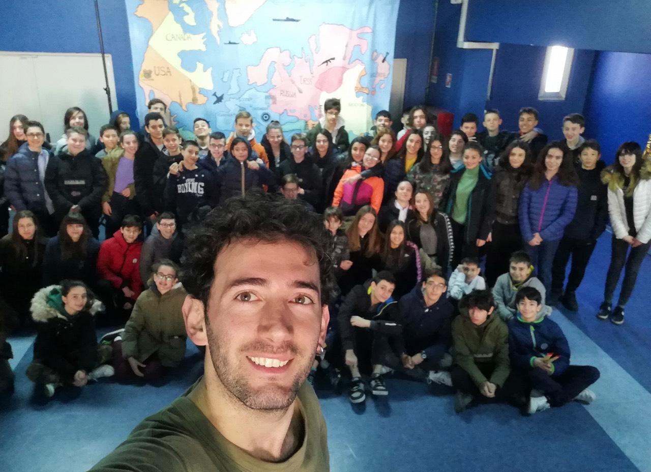 Matteo Palazzo insegnante laboratorio teatro ragazzi Roma