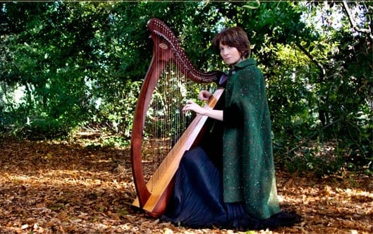 Valeria Carissimi arpa celtica Corde Magiche